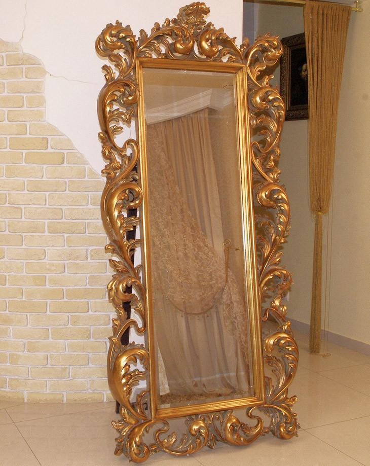 Старинные большие зеркала фото