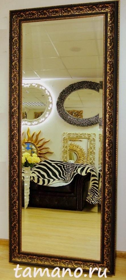 Как сделать большое зеркало в багете
