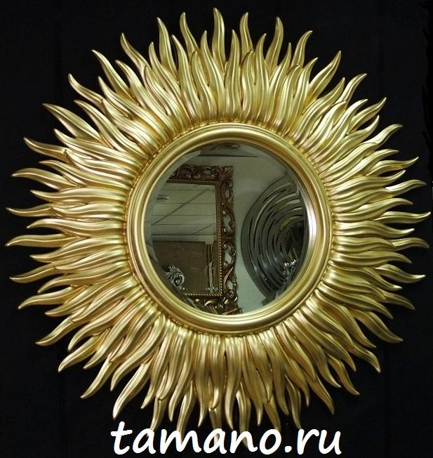зеркало в деревянной раме купить