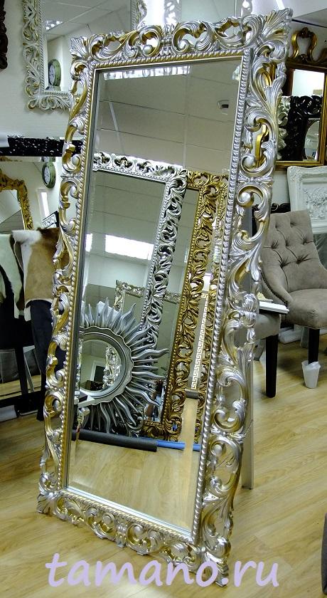 Немного фотографий доставленных нами зеркал в рамах.
