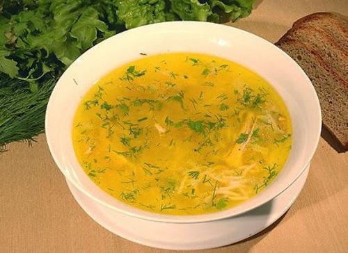Как приготовить суп из спагетти